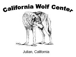 Image of the California Wolf Center logo