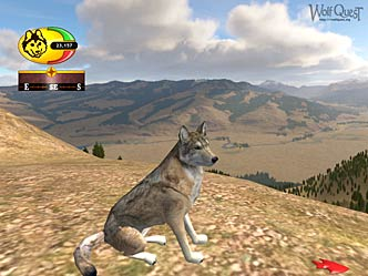 Screenshot of regular Lamar Valley Wolf