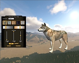 Customize your wolf
