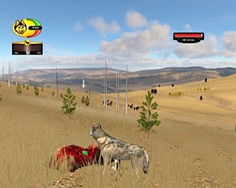 Screenshot of elk carcass